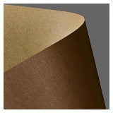Картон дизайнерский двусторонний А4 Kraft - Brazowy, 275 г/м² (20 шт.)